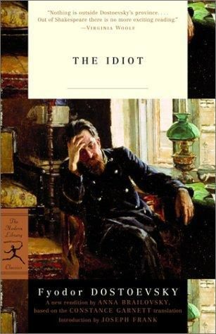 """The Idiot"" by Dostoevsky"
