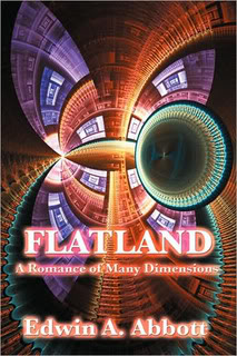 """Flatland:  A Romance of Many Dimensions"" by Edwin A. Abbott"