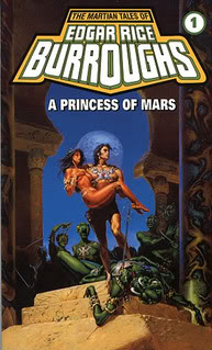 """A Princess of Mars"" by Edgar Rice Burroughs"
