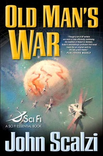 """Old Man's War"" by John Scalzi"