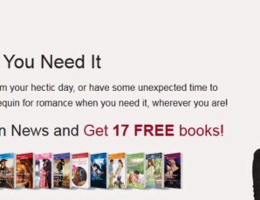 Romance When You Need It–Free E-books from Harlequin!