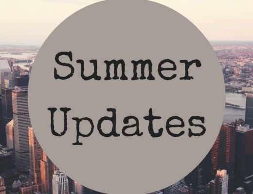 Adventures and Summertime Updates
