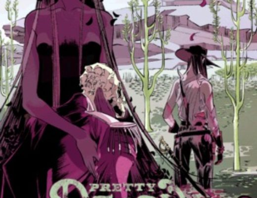 """Pretty Deadly, Vol. 1: The Shrike"" by Kelly Sue DeConnick and Emma Rios"