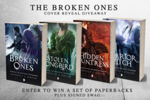 Malediction Series Paperbacks & Signed Swag