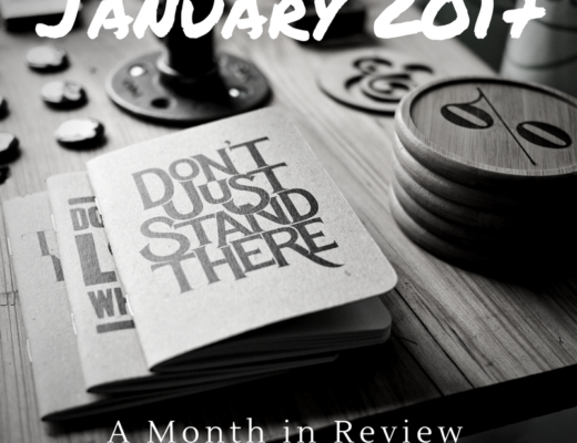 January 2017: A Month in Review